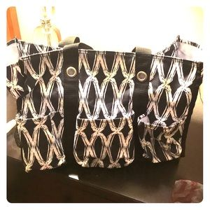 Thirty One Zip Top Organizing Tote